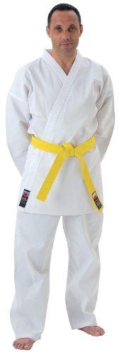 CIMAC Giko Arti Marziali In Policotone elasticizzato cintura da karate Bianco, 140 cm