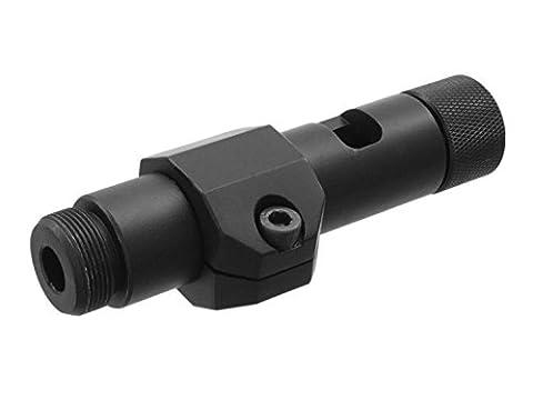 WELL Metall Flashhider für Sniper Rifles wie z.b. MB03, MB4402, MB4405, MB4407 und MB08 (105mm)