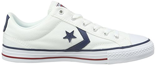 Converse  Star Player Adulte Core Canvas Ox, Chaussures de Gymnastique mixte adulte Blanc (Weiß)
