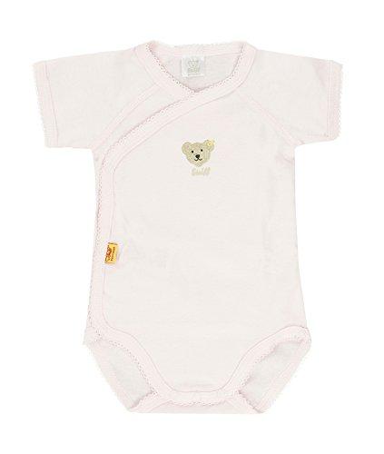 Steiff Unisex - Baby Body 0008512 Rosa (barely pink) 62 (Herstellergröße: 62)