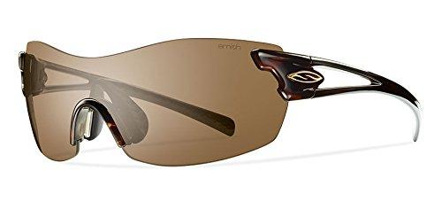 Smith Pivlock Asana/N XC 086, Gafas de Sol para Mujer, Marrón (Dark Havana/Brown CP), 99