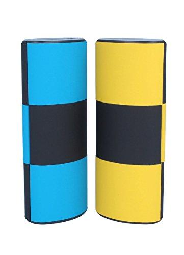 Zauberetui / Logic / Change Color groß - lang (14081-schwarz-türkis-gelb)