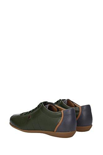 HAIDO2396198856 Bally Sneakers Homme Cuir Vert Vert