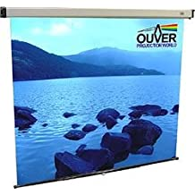 OUVER PANTALLA MANUAL RETROPROYECCION BACK 180x180 1:1