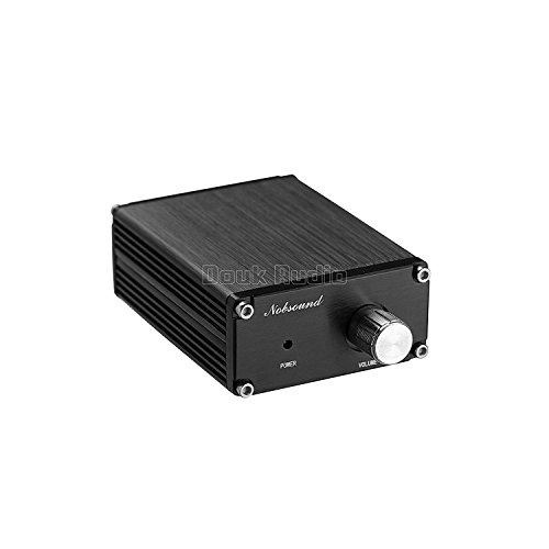 31r0nhRy90L. SS500  - Nobsound 100W Subwoofer Digital Power Amplifier Audio Mini Amp with power supply (Black)