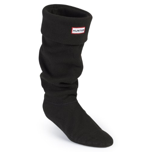 Hunter Fleece Welly Socks Chaussettes EU 31-45 Noir