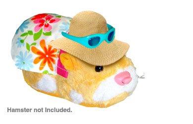 Giochi Preziosi 99004898 - Zhu Zhu Hamster Kleidung Outfit Sonne Kleidung und Sonnenbrille