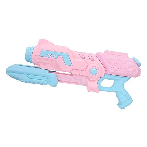 Bnineteenteam Sommer Kinder Strand Wasser Spielzeug Wasserpistole, Outdoor Kinder Pull-Typ Luftdruck Pistole Spielzeug (Rosa)