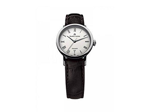 Maurice Lacroix Les Classiques Ladies Date Automatic Watch, White, Cayman Band