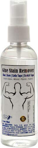 CERO Glue Stain Remover Spray from Glass Wood Plastic Fabric (100ml)