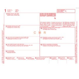Brief des Auto International edipro CMR 5Kopien 12X24cm [e0052bis]