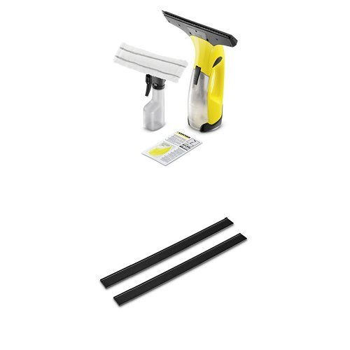 Kärcher 1.633-301.0 Fenstersauger WV2 Plus + 2.633-005.0 Abziehlippen (2 WV, 280mm)