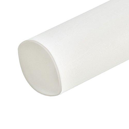 Sourcingmap Schrumpfschlauch, 2:1 Elektrischer Isolierschlauch, Draht-Schlauch, Weiß, 6 mm Durchmesser, 5 m Länge (Draht-schlauch)