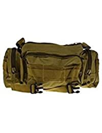 Tradico® Outdoor Utility Tactical Waist Pack Pouch Military Camping Hiking Bag Khaki
