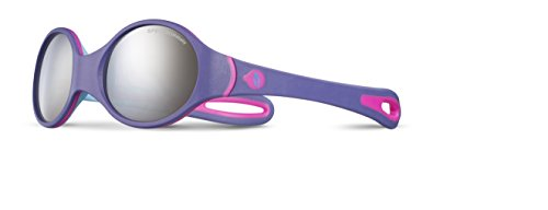 Julbo Loop Sonnenbrille violett Violet/Bleu Ciel/Rose Fluo/