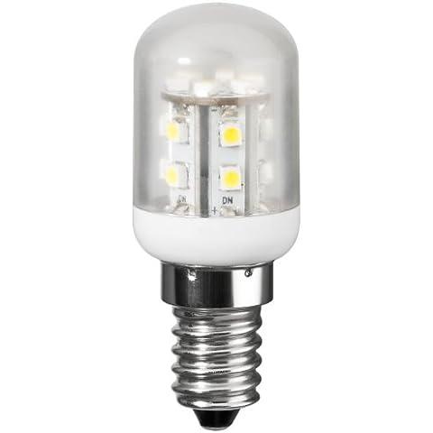 LED minifrigorífico lámpara 1,2 W atornillables E14, equivalente a 10 W, a prueba de frío-blanco, 2 unidades 1.2|watts