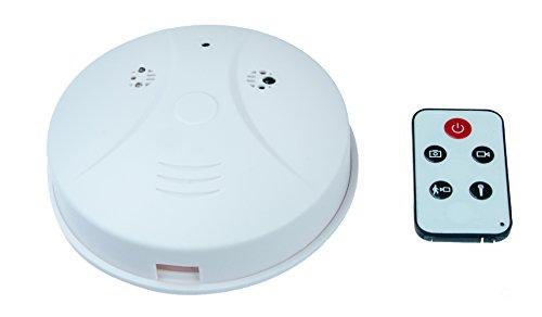 Rauchmelderkamera Rauchmeldeattrappe mit integrierter 2 Megapixel Kamera Spionagekamera, Bewegungssensor, Ton, Fernbedienung von Kobert - Goods