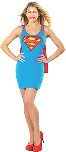 Rubie´s Offizielle Supergirl Tank Kleid, Erwachsene -