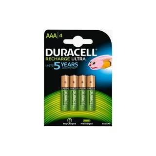 Duracell Battery, Stay Charged Nimh Aaa 850mAh 4pk of Game Points Direct