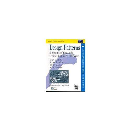Design patterns:elements of reusable object-oriented software (Livre en allemand)