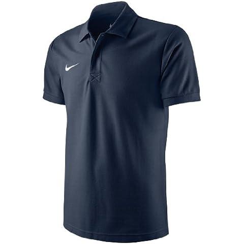 Nike TS Core Polo - Polo para hombre, color azul marino / blanco, talla 2XL