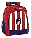 Safta Mochila Escolar Junior Atlético De Madrid Oficial 320x120x380mm