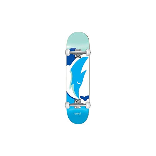 Enjoi Skateboard Komplett Big Head Stardust - 7.5 inch Mint (One Size, Blau)