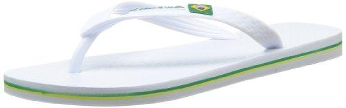 Ipanema Clássica - Sandalias al dedo Hombre, 22277/white/white, 41/42 EU