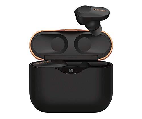 Sony WF-1000XM3 True Wireless Noise Cancelling Kopfhörer (bis zu 32h Akkulaufzeit, stabile Bluetooth Verbindung, Amazon Alexa, komplett kabellose Earbuds incl. Ladecase) schwarz - 10