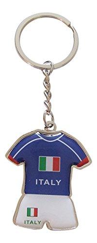 Schlüsselanhänger Trikot und Shorts der Team von Italien Fußball, Europapokal 2016. (Team-fußball-trikots)