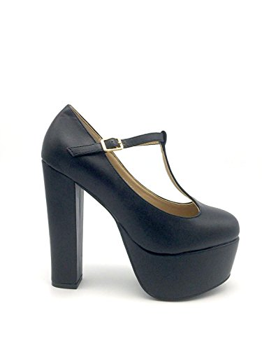 Grace, Black eco-pelle, 37 - Scarpe con tacco - Martina Gabriele shoes