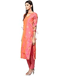486d10eeae Amazon.in  Pinks - Dress Material   Ethnic Wear  Clothing   Accessories