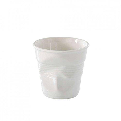 Revol Gobelet Froissé Blanc 8Cl