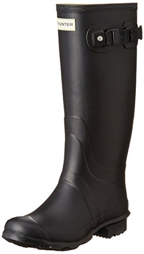 Hunter Women's Field Huntress Wellington Boot, Black, UK5