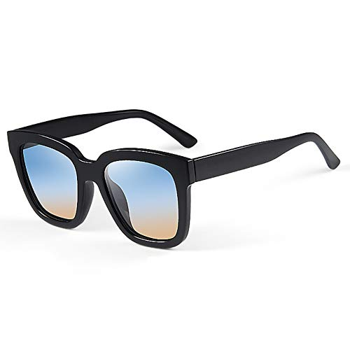 Yw-Sunglasses HD Polarized Herren Sonnenbrillen, Driving Sonnenbrillen, Angeln Sonnenbrillen, UV-beständig, farbige Sonnenbrillen,Blue,0°300°
