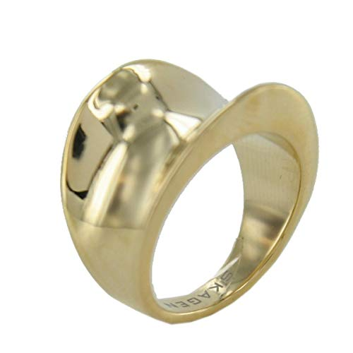 Skagen Designs UK Damen-Ring Edelstahl Swarovski-Kristall 57 (18.1) JRSG001S8