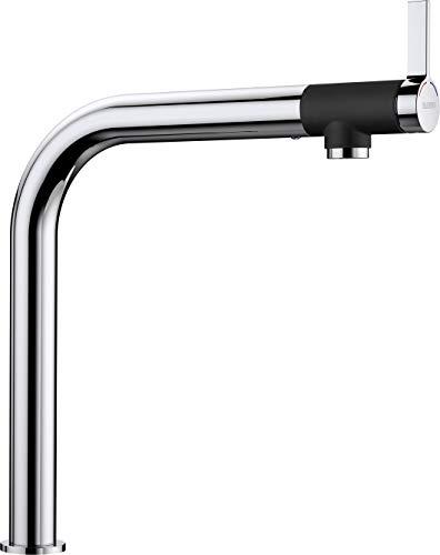 Blanco Vonda, Design-Küchenarmatur mit Frontsteuerung, Oberfläche chrom, Hochdruck, 1 Stück, 518434