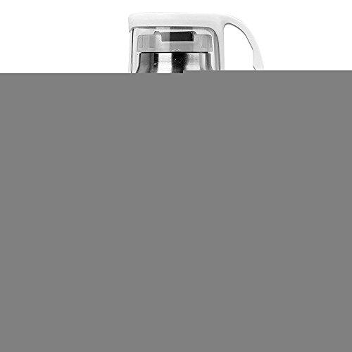 Preisvergleich Produktbild Handson Edelstahl Vakuum Isoliert Drink Cup die Führung Circle isoliert Reisen Tumbler weiß 14oz / 350 ml