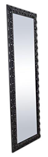 GAD-M7192-Espejo-de-madera-natural-color-negro-brillo