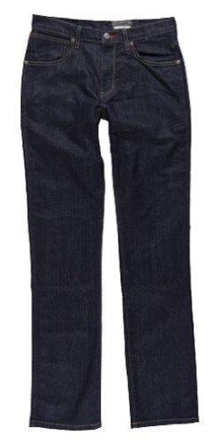Wrangler Herren Jeans Arizona Stretch Worn Broke Blau (Indigo)