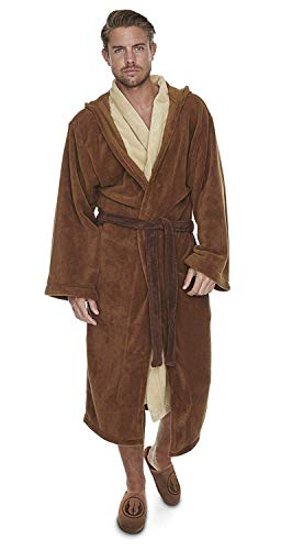 Star Wars Jedi Bademantel Fleece Robe braun