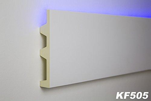 2-meter-pu-stuckprofil-stuckleiste-lichtleiste-led-stuck-stossfest-142x25-kf505