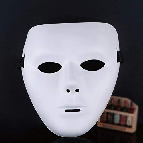 Coomir Kunststoff Full Face Jabbawockeez Dance Crew Kostüm Maske Party Halloween ()