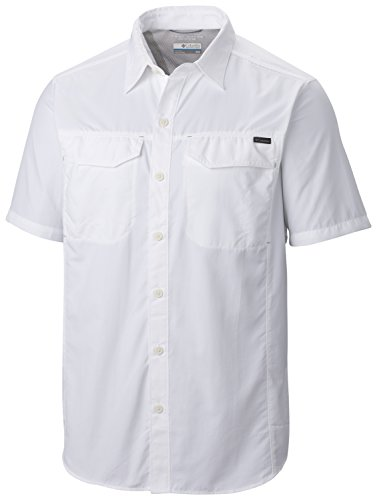 columbia-silver-ridge-chemise-manches-courtes-homme-blanc-fr-xl-taille-fabricant-xl