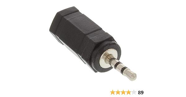 Inline 99308 Audio Adapter 2 5mm Klinke Stecker Zu Elektronik