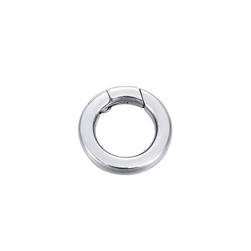 rund Enhancer Shortener Ring Federverschluss für Schmuckherstellung 14,5mm ()