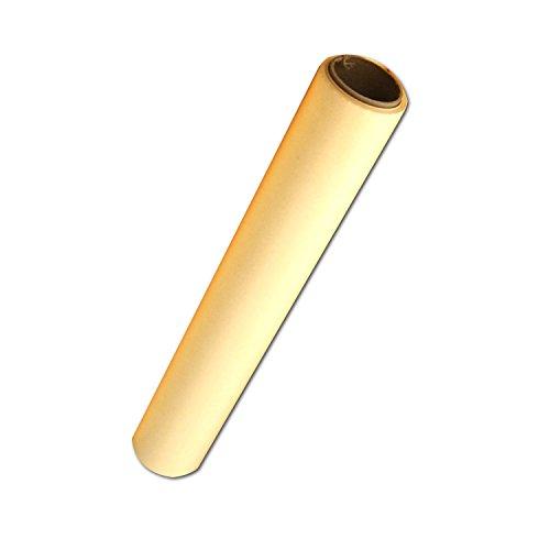 Gelbes Transparentpapier - 45,5 Meter Rolle - 30,5 cm breit