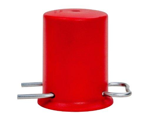 Rote Schutzkappe für 3kg 5kg und 11kg Propangasflaschen (Kappen Deckel)