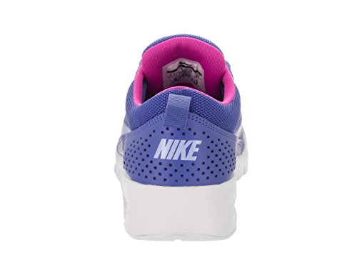 Nike Kids Air Max Thea (GS) Running Shoe Comet Blue/Aluminum/White