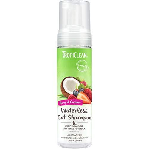 Tropiclean Deep Cleaning Waterless Shampoo per Gatti, 220ml